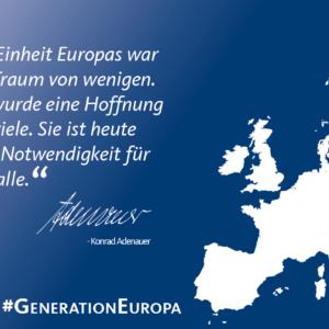 Postkarte Adenauer (50 Stück)